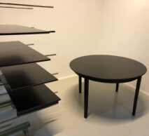 bord med 4 tillægsplader sprøjtemalet