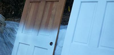 sprøjtemaling af døre